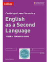 9780008215453, Cambridge Lower Secondary English as a Second Language Teacher's Guide: Stage 8 paperback
