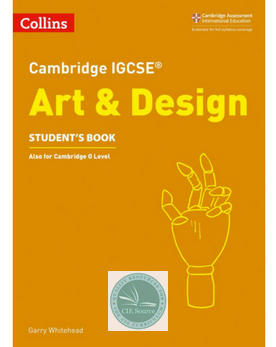 Cambridge IGCSE® Art & Design Student's Book paperback (New 2018)