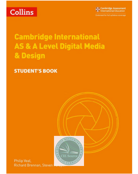 9780008251000, Cambridge International AS & A Level Digital Media & Design (New 2018)