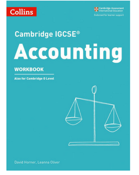 9780008254124, Cambridge IGCSE® Accounting Workbook paperback (New 2018) - CIE SOURCE