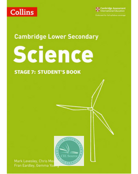 Cambridge Lower Secondary Science Student's Book: Stage 7 paperback (New 2018)