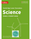 9780008254667, Cambridge Lower Secondary Science Student's Book: Stage 8 paperback (New 2018)