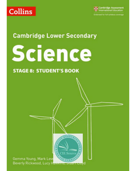 Cambridge Lower Secondary Science Student's Book: Stage 8 paperback (New 2018)