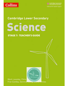 9780008254681, Cambridge Lower Secondary Science Teacher's Guide: Stage 7 (New 2018)