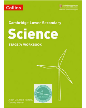 Cambridge Lower Secondary Science Workbook: Stage 7 (New 2018)