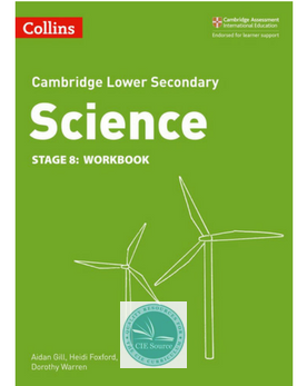 9780008254728, Cambridge Lower Secondary Science Workbook: Stage 8 (New 2018)