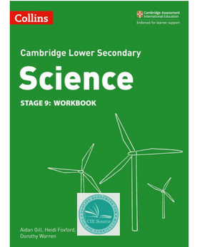 9780008254735, Cambridge Lower Secondary Science Workbook: Stage 9 (New 2018)
