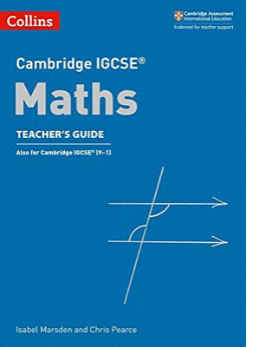 9780008257804, Cambridge IGCSE® Maths Teacher's Guide (New 2018)