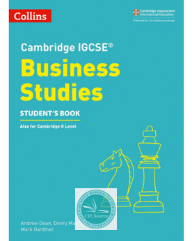 9780008258054, Cambridge IGCSE® Business Studies Student's Book (New 2018)