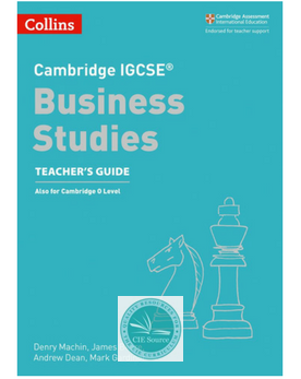 9780008258061, Cambridge IGCSE® Business Studies Teacher's Guide paperback (New 2018)