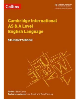 9780008287603, Collins Cambridge AS & A Level - Cambridge International AS & A Level English Language Student's Book (NYP Due March 2019)