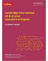 9780008287610, Collins Cambridge AS & A Level - Cambridge International AS & A Level Literature in English Student's Book
