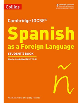 9780008300371, Collins Cambridge IGCSE - Cambridge IGCSE Spanish Student's Book (New 2019)