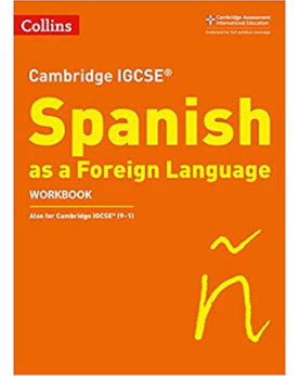 9780008300395, Collins Cambridge IGCSE - Cambridge IGCSE Spanish Workbook (New 2019)