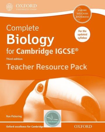 Complete Biology for Cambridge IGCSE Teacher Resource Pack (Second edition)