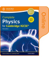 9780198310358, Complete Physics for Cambridge IGCSE Online Student Book (Updated edition)