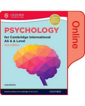Psychology for Cambridge International AS and A Level (9990 syllabus) :Online Student Book