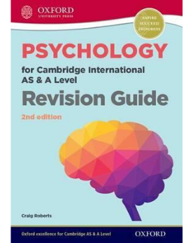 9780198366799, Psychology for Cambridge International AS and A Level Revision Guide 2nd edition