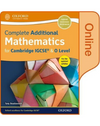 9780198376712, Complete Additional Mathematics for Cambridge IGCSE® & O Level Online Book