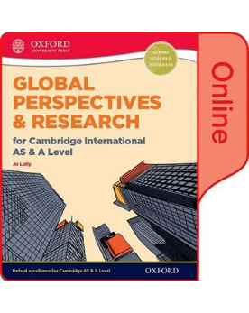 9780198376750, Global Perspectives and Research for Cambridge International AS & A Level Online Book New 2017