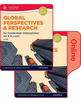 Global Perspectives and Research for Cambridge International AS & A Level Print & Online Book NOT YET PUBLISHED DUE MARCH 17, 2017 - CIE SOURCE
