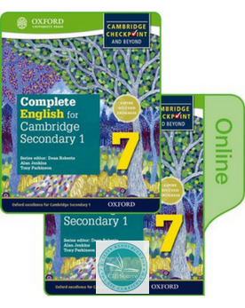 9780198378334, Complete English for Cambridge Secondary 1 Print and Online Student Book Pack