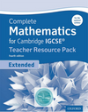 9780198378365, Complete Mathematics for Cambridge IGCSE® (Extended) Fourth Edition: Teacher Pack (New 2017)
