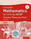 9780198378389, Complete Mathematics for Cambridge IGCSE® (Core) Fourth Edition: Teacher Pack(New 2017)
