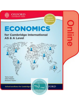 9780198379294, Economics for Cambridge International AS and A Level Online Student Book
