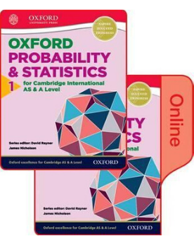9780198379393, Mathematics for Cambridge International AS and A Level: Statistics 1 :Print and Online Student Book Pack