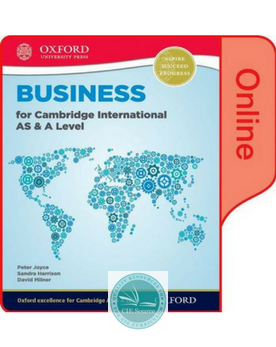 9780198379423, Business for Cambridge International AS & A Level Online Student Book