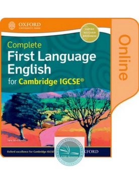 9780198379447, Complete First Language English for Cambridge IGCSE® :Online Student Book