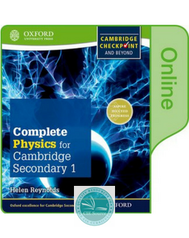 9780198379522, Complete Physics for Cambridge Secondary 1 :Online Student Book