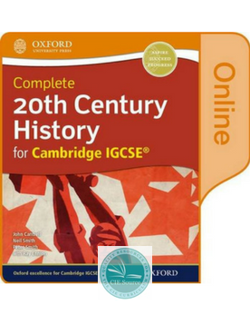 Complete 20th Century History for Cambridge IGCSE :Online Student Book
