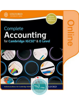 Complete Accounting for Cambridge O Level & IGCSE :Online Student Book