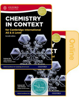 9780198396215, Chemistry in Context for Cambridge International AS & A Level Print & Online Student Book Pack