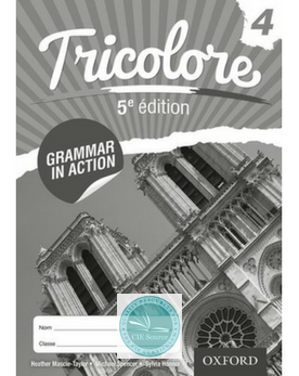Tricolore 5e édition: Grammar in Action 4 (8 Pack)