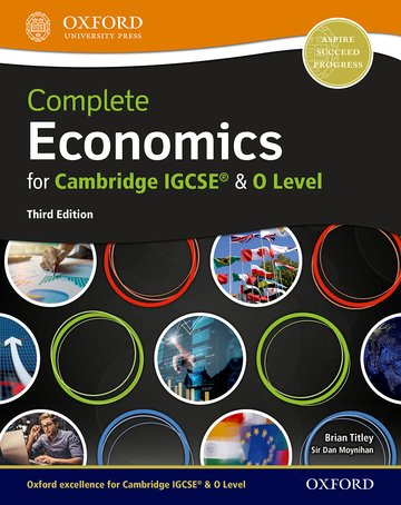 9780198409700, Complete Economics for Cambridge IGCSE and O-Level Student Book 3rd edition(New 2018)