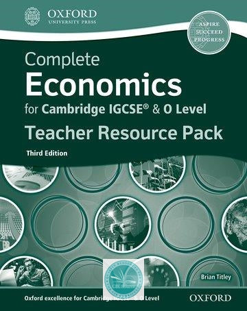 9780198409731, Complete Economics for Cambridge IGCSE and O-Level Teacher Resource Pack 3rd edition