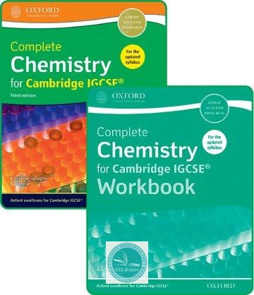 9780198409854, Complete Chemistry for Cambridge IGCSE® Student Book and Workbook Pack