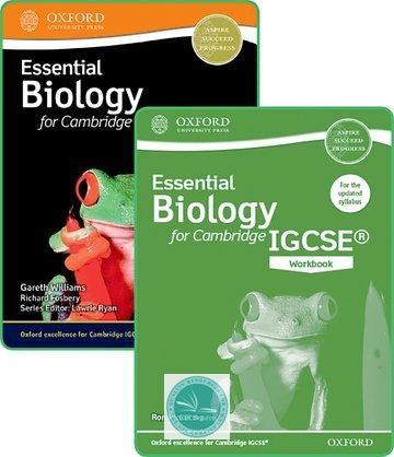 9780198409878, Essential Biology for Cambridge IGCSE® Student Book and Workbook Pack