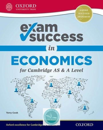 9780198412717, Exam Success in Economics for Cambridge AS & A Level (New 2018)
