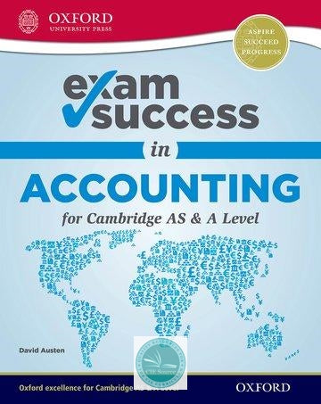 9780198412755, Accounting for Cambridge International As and a Level Exam Success Guide (New 2018)
