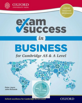 9780198412793, Exam Success in Business for Cambridge AS & A Level (New 2018)