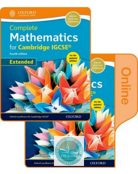 9780198415398, Complete Mathematics for Cambridge IGCSE® Online & Print Student Book Pack (Extended)