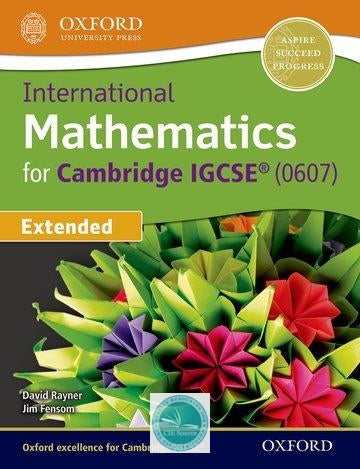9780198416906, International Maths for Cambridge IGCSE Student Book