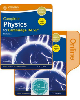 9780198417675, Complete Physics for Cambridge IGCSE® Print and Online Student Book Pack