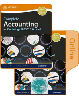 Complete Accounting for Cambridge O Level & IGCSE Student Book & Online Book
