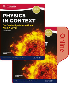 9780198417811, Physics in Context for Cambridge International AS & A Level Print and Online Student Book Pack