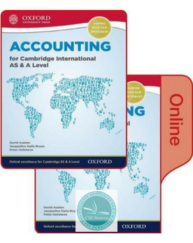 9780198417859, Accounting for Cambridge International AS & A Level Print and Online Student Book Pack (New 2017)